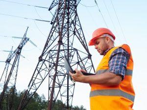 rețea electrică și electrician